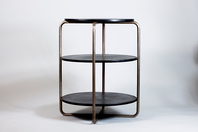 Finnish 1940s Tubular Steel Table by Pauli Blostedt for Merivaara