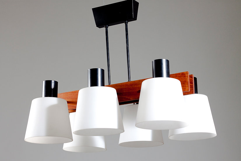 Finnish Mid-Century Modern Ceiling Light by Itsu
