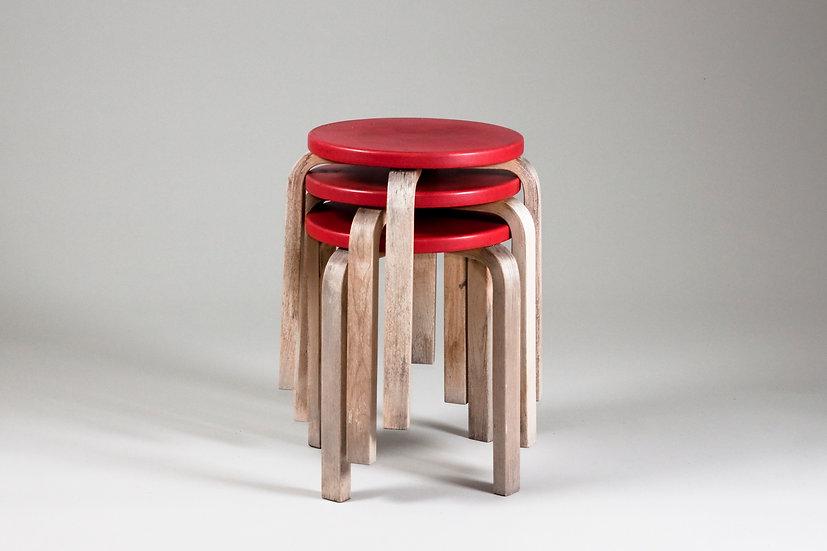 Alvar Aalto E60 stool Artek aino aalto design vintage 1950s 1960s finnish design scandinavian nordic furniture
