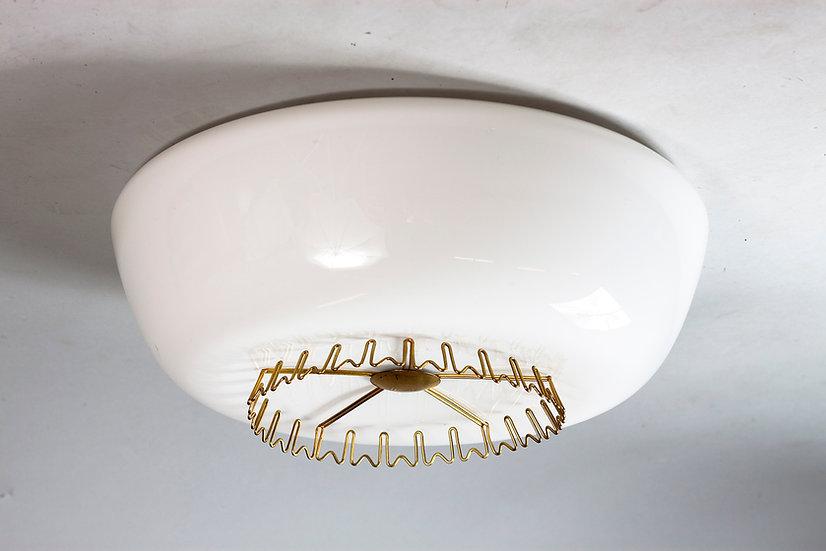 Lisa Johansson-Pape, Rare 1950s Plafond Light, ORNO Finland