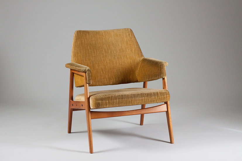 Swedish design midcentury armchair vintage