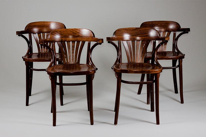 Thonet bentwood chair ZPM Radomsko jugend art deco design patina vintage retro nordisten