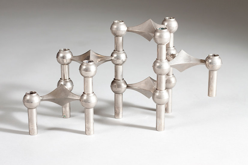 1960s Candle Holder by Caesar Stoffi and Fritz Nagel, Germany