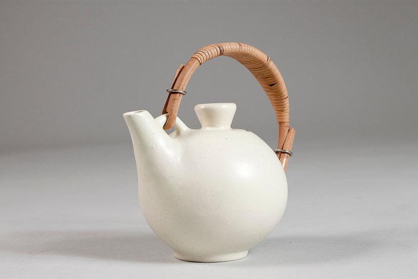 Finnish Ceramic Tea Pot by Orvokki Laine for Kupittaan Savi