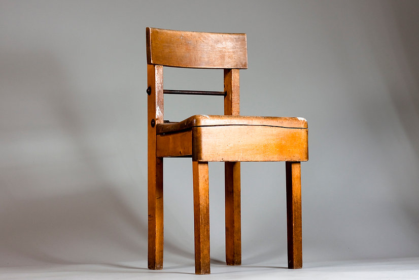 Early 1900s Unique Adjustable Artists Chair