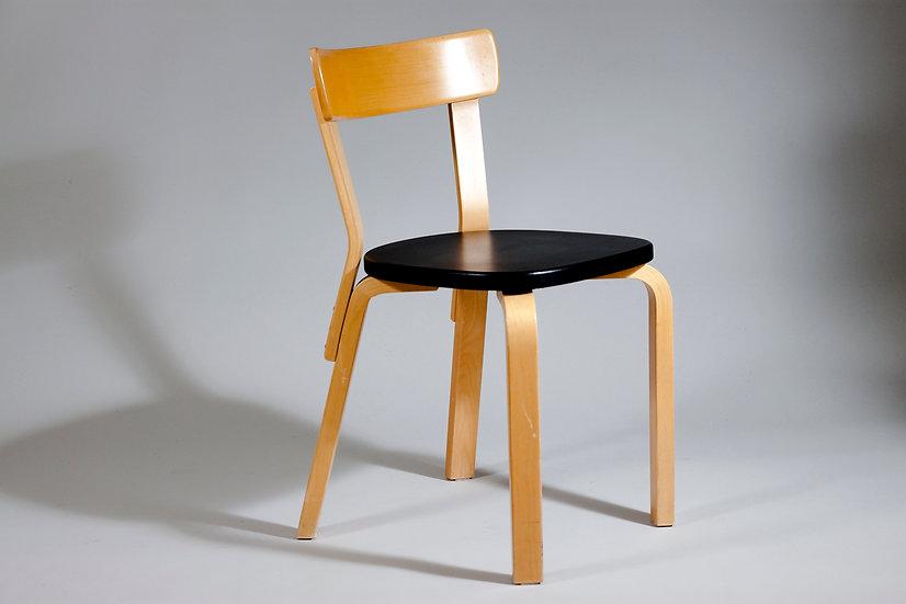 Alvar Aalto Chair 69, circa 1950 for Artek, Finland