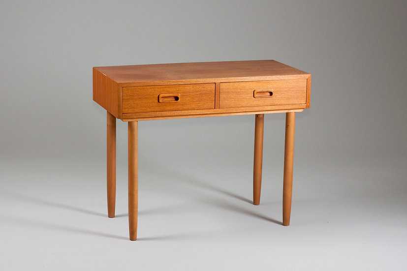 1950s side table with drawers chest finnish design scandinavian nordic vintage retro