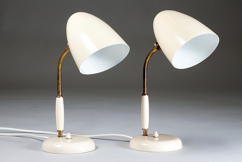 Pair of Finnish 1950s Table Lamps, Stockmann