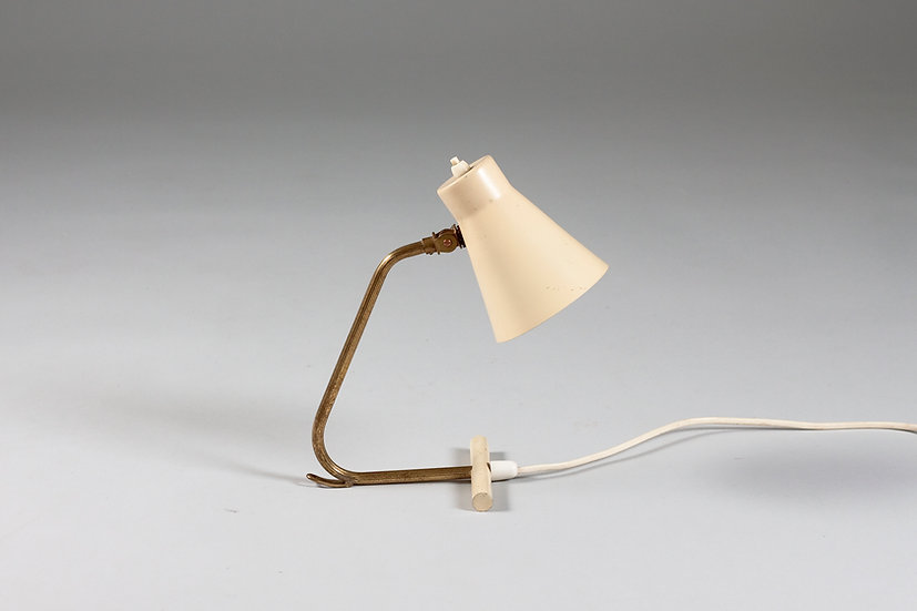 Scandinavian Mid-Century Desk/Wall Lamp