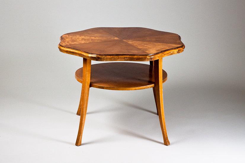 """Finnish 1950s Coffee Table """"Maire"""" by Ilmari Lappalainen, ASKO"""