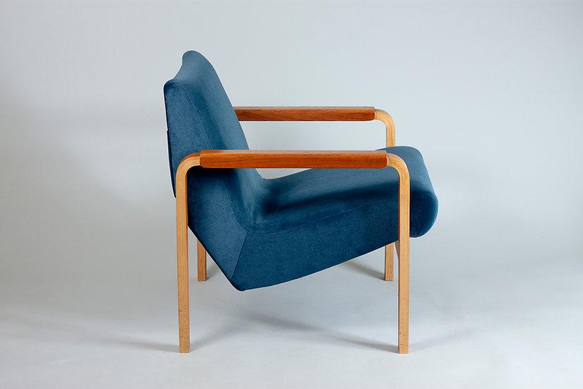 Risto Halme, 1960s Easy Chair for Lahden Puukalusto, Finland