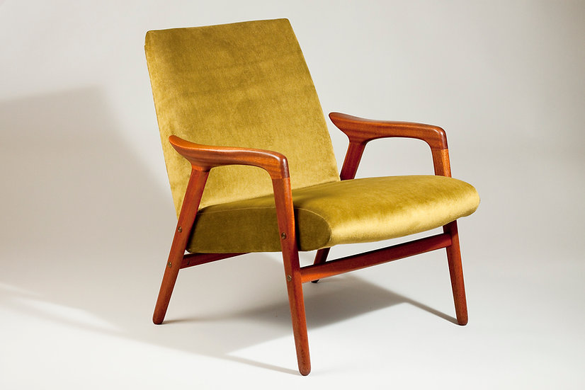 1950s Teak Armchair By Yngve Ekström for Lästo, Swedese