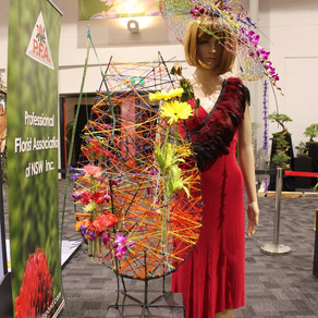 Linda Taneja Awarded 1st Prize - Royal Easter Show Floral Competition
