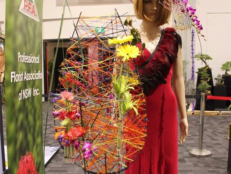 Linda Taneja Awarded 1st Prize - Royal Easter Show Floral Competition