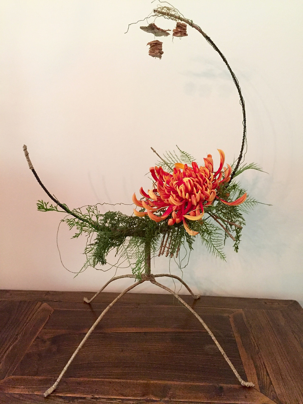 Eco friendly corporate floral design with purpose