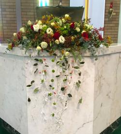 Church Altar Arrangement