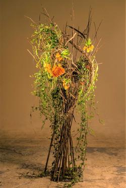 Fresh plant design freestanding