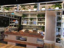 Artificial Plants Restaurant