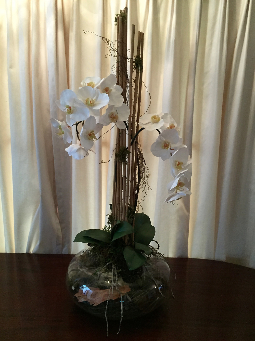 Artificial phalaenopsis orchid