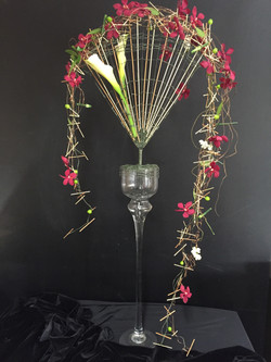 Contemporary Floristry Design Fan