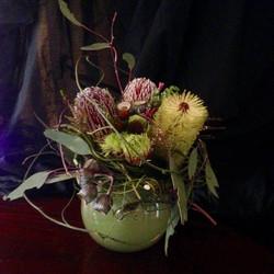 Fresh Aussie native floral design