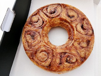 Cinnamon Ring Cake (8 inches), $20