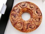 Cinnamon Ring Cake (8 inches), $20
