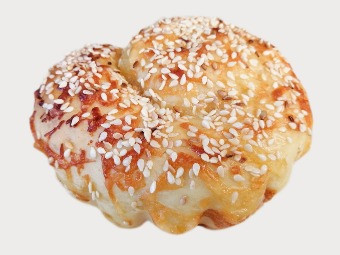 Sesame Cheese Scroll, $4.50