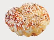 Sesame Cheese Scroll, $4.50