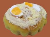 Salted Egg Ensaymada, $5