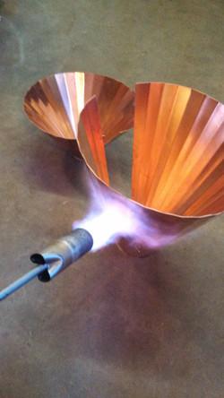 Mid build copper head