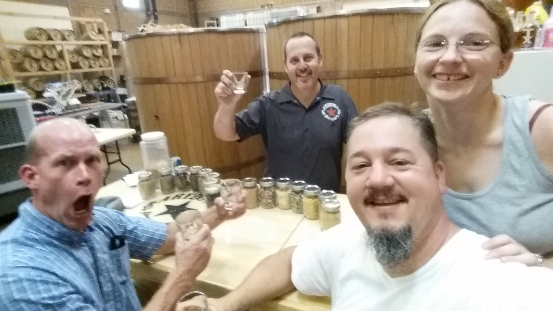 Tasting at Arizona Distilling Co.