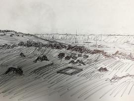 Holovid image of nomad Basin encampments