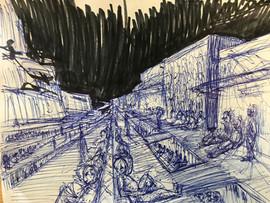 Royal Warehouse District, homeless commu