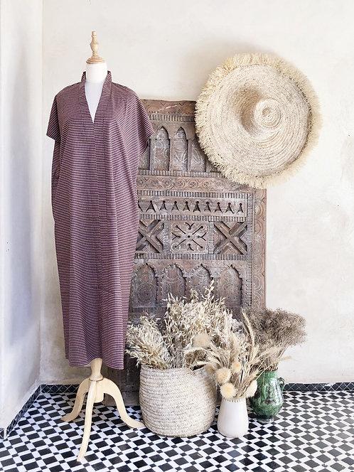 THE CAFTAN DRESS OUM VICHY