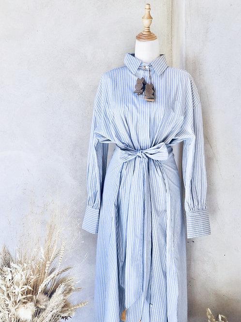 THE SHIRT DRESS SIHAM STRIPED