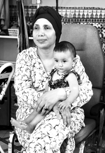 ZAHRA - THE DIRECTOR OF THE WOMEN'S ASSOCIATION AL KAWTAR