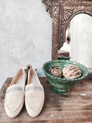 THE RAFFIA SHOES NAIMA