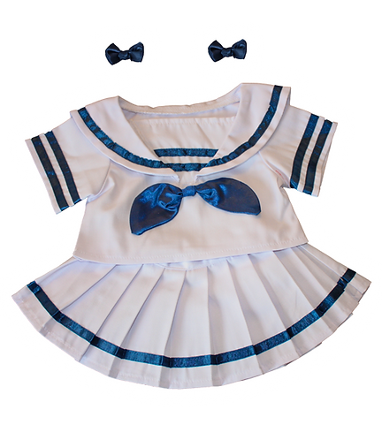 Sailor Girl with Bows (16-inch)