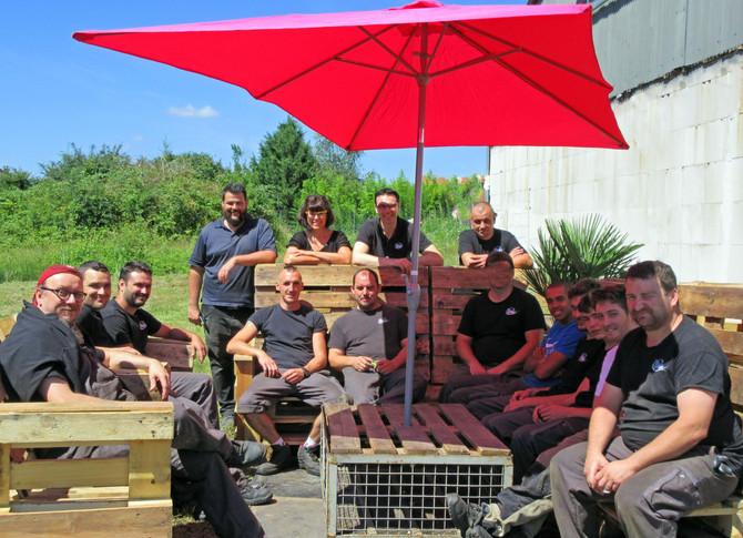 Activité Team Building chez FMG « Construire » la cohésion d'équipe