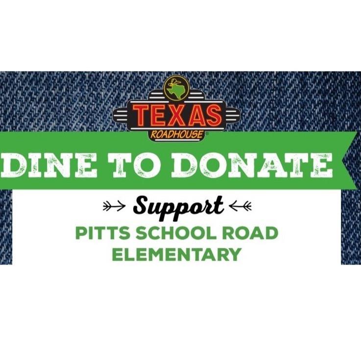 School Spirit Night Fundraiser at Texas Roadhouse - November