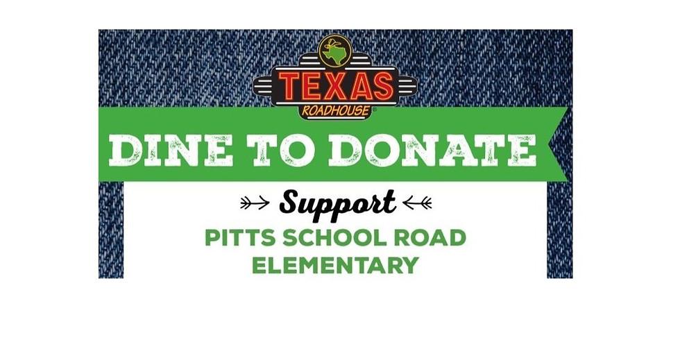 School Spirit Night Fundraiser at Texas Roadhouse - September