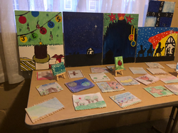 Artwork done by students