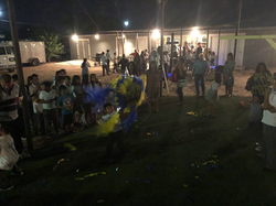 Piñata after the ceremony