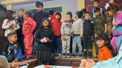 Children during program
