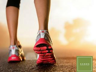 Caminar y estar saludable