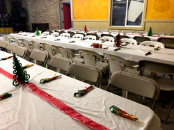 Decorated tables