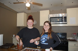 Making chocolate covered oreos
