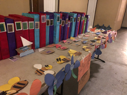 Crafts done by students