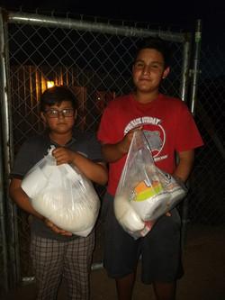 Brothers Alejandro and Brian
